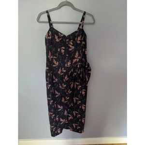 Rebecca Taylor Ivie Faux Wrap Dress